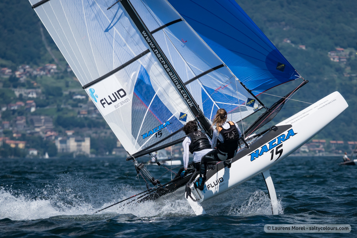 Nacra 15 is the biggest fleet at 2018 European Championships