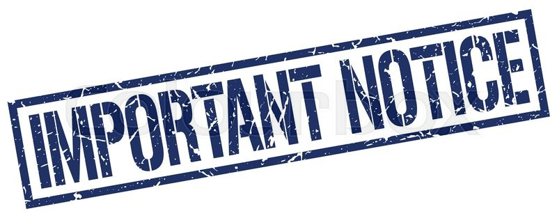 Important notice: New Notice of Race v5 published & Parental Consent Form
